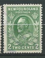 Terre Neuve - Yvert N° 170  Oblitéré    - Cw34223 - 1908-1947