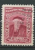Terre Neuve - Yvert N° 49 Oblitéré    - Cw34224 - 1865-1902