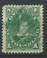 Terre Neuve - Yvert N° 40 Oblitéré    - Cw34225 - 1865-1902