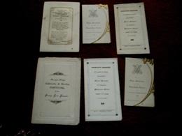 Saint-Nicolas Waas : Très Vieux Documents Et Carte Postale - Mariage