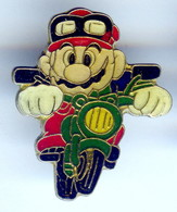 Pin's JEU MARIO BROS MOTO © 1988 NINTENDO OF AMERICA INC - Games