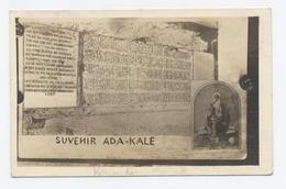 1930--SOUVENIR   ADA KALE-MAHMUD KHAN --ECRIT EN ALLEMAND--  RECTO VERSO- B44 - Türkei
