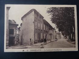 26  PIERRELATTE  Le  Boulevard  Chaudeysson - Montelimar