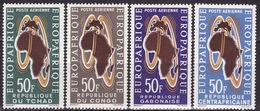 FRENCH AFRICA - 1963 - EUROPAFRIQUE - SHORT SET - MNH** LUX - Frankreich (alte Kolonien Und Herrschaften)