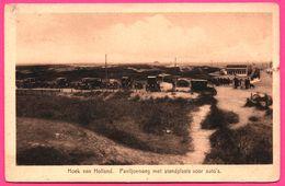 Hoek Van Holland - Paviljoenweg Met Standplaats Voor Auto's - WEENENK & SNEL - 1930 - Hoek Van Holland