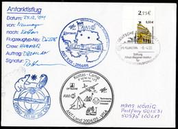 "Germany,""POLAR 2 - DROMLAN- Flight"" Base GnN Tp Kottas-Camp,sign Pilot, 3 Cachets!! Look Scan,RARE !! 26.3-06 - Ohne Zuordnung"