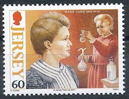 Jersey 2011: MARIE CURIE (1867-1934) Michel-No. 1541 ** MNH - START BELOW POSTAL FACE VALUE (£ 0.60) - Chemistry
