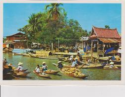 Thailandia - Mercato Galleggiante - Mercanti