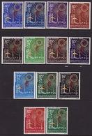 FRENCH AFRICA - 1963 - AIRMAIL - UNION AFRICANE - POSTES ET TELECOMMUNICATIONS - COMPLETE SET - MNH** LUX - Frankreich (alte Kolonien Und Herrschaften)