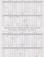 Calendario Cartonato Francese Umoristico (Fronte E Retro) - Calendari