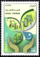 ALGERIE ALGERIA 2018 - 1v MNH** - Green City Pollution Environment Waste Ville Verte Sustainable Grüne Stadt Energy - Protection De L'environnement & Climat