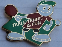 TENNIS DE TABLE CLUB  - PING PONG - TABLE TENNIS IS FUN -  SCHWEIZ - SUISSE -      (19) - Table Tennis