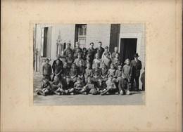Bekkerzeel - Gemeenteschool 1933 - Foto Op Karton. - Asse