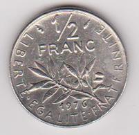 1976 Francia - 50 C Circolato (fronte E Retro) - Francia