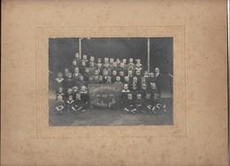 Bekkerzeel - Gemeenteschool 1920-1921- Foto Op Karton. - Asse
