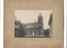 Bekkerzeel - Kerk - Foto Op Karton. - Asse