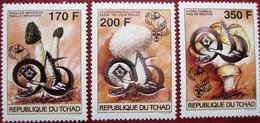"Tchad     1996  3 V  OP "" Taipei "" 96   MNH - Champignons"