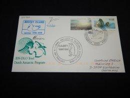 Australian Antarctic Territory 1999 Casey Andery Island Cover__(L-22767) - Australisches Antarktis-Territorium (AAT)