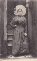 """76. LE HAVRE (ENVOYE DU). CPA. PORTRAIT FEMME. TYPE DE MATELOTE ET COIFFE """" SOLEIL"""" DE BOULOGNE SUR MER. ANNÉE 1909 - Autres"""