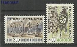 Finland 1976 Mi 781-782Ay MNH ( ZE3 FNL781-782Ay ) - Finland