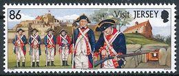 "Jersey 2012: ""re-enacting Militia In Historic Uniforms"" Michel-No. 1617 ** MNH - START BELOW POSTAL FACE VALUE (£ 0.86) - Militaria"