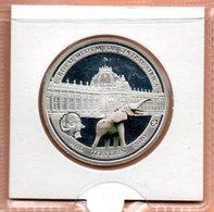 BELGIE 10 EURO 2010 ZILVER PROOF MUSEUM VOOR CENTRAAL AFRIKA OLIFANT COLOURED - Belgique