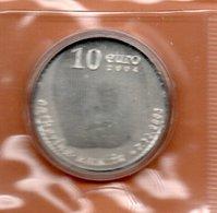 NEDERLAND 10 EURO 2003 ZILVER PROOF GEBOORTE AMALIA - Pays-Bas