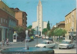 Pontinia - Via C. Battisti E Parrocchia S. Anna - Latina - H1339 - Latina