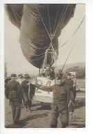 AVIATION GORDON BENNETT ZURICH SUISSE BALLON 24 AIRSHIP ZEPPELIN 1909 CARTE PHOTO ( SPELTERINI  )/FREE SHIPPING R - Airships