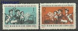 Vietnam 1972 Mi 689-690 MNH ( ZS8 VTN689-690 ) - Professioni