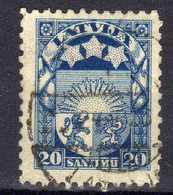 Lettland / Latvia 1923 Mi 95, Gestempelt, Platte I B, Zähnung 10 [241118XIV] - Latvia