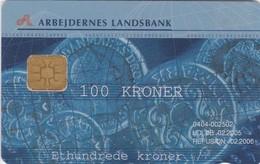 Denmark, DD 235A, Www Al-bank Dk, 4.100 Issued, 2 Scans.  02.2005 - Danemark