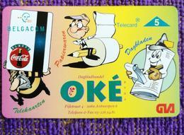 Optical Phonecard, P432 OKE Coke Phonecard,mint - Belgium