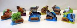 Fèves Brillantes - Les Animaux Protégés De Nos Régions X 10 (série Complète) - Animals