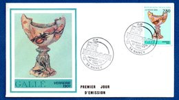 Enveloppe 1er Jour  /Gallé - Verrerie 1901 / Nancy / 22 Janvier  1994 - FDC