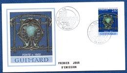 Enveloppe 1er Jour  /Guimard  - Fonte 1900 / Nancy / 22 Janvier  1994 - FDC