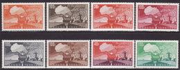 FRENCH AFRICA - 1969/1970 - ASECNA - SHORT SET - MNH** LUX - Frankreich (alte Kolonien Und Herrschaften)
