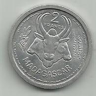 Madagascar 2 Francs 1948. - Madagascar