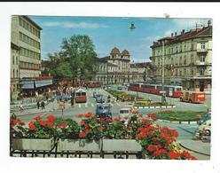 CPM Suisse  Zurich Winterthur Bahnhofplatz 136 Photo Baumann Bus Autos Tram Neuve TBE - ZH Zurich