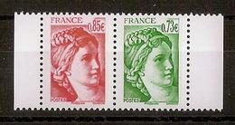 YT 5183-5184 - 40ème Anniversaire De La Sabine De Gandon - Issu Du Carnet (2017) - Frankreich