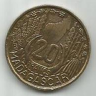 Madagascar 20 Francs 1953. KM#7 - Madagascar
