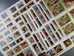 Ajman - Manama - Gemälde/Akt Bögen Postfrisch 8 Komplette Sätze 160,00 € (6448) - Aktmalerei