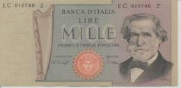 ITALY P. 101e 1000 L 1977 UNC - [ 2] 1946-… : République