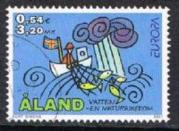 Aland SG201 2001 Europa 3m.20 Fine Used [13/13797/6D] - Aland