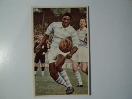 CARTE FOOTBALL TOPKA. ANNEES 60. FRAPPER DU PIED EN L AIR. MIROIR SPRINT - Football