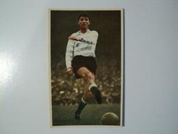 CARTE FOOTBALL JJ MARCEL. ANNEES 60. FRAPPE DE LA BALLE A PIED PLAT. MIROIR SPRINT - Soccer