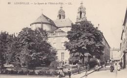 LUNEVILLE - Le Square De L'Hôtel De Ville - Luneville