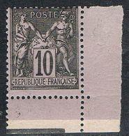 FRANCE : N° 89 ** Coin De Feuille (Type Sage) - PRIX FIXE - - 1876-1898 Sage (Type II)