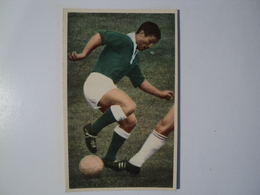 CARTE FOOTBALL GUILLAS. ANNEES 60. L ENGAGEMENT SUR LE BALLON. MIROIR SPRINT - Football