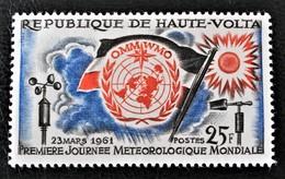 JOURNEE MONDIALE DE LA METEOROLOGIE 1961 - NEUF * - YT 93 - MI 96 - Haute-Volta (1958-1984)
